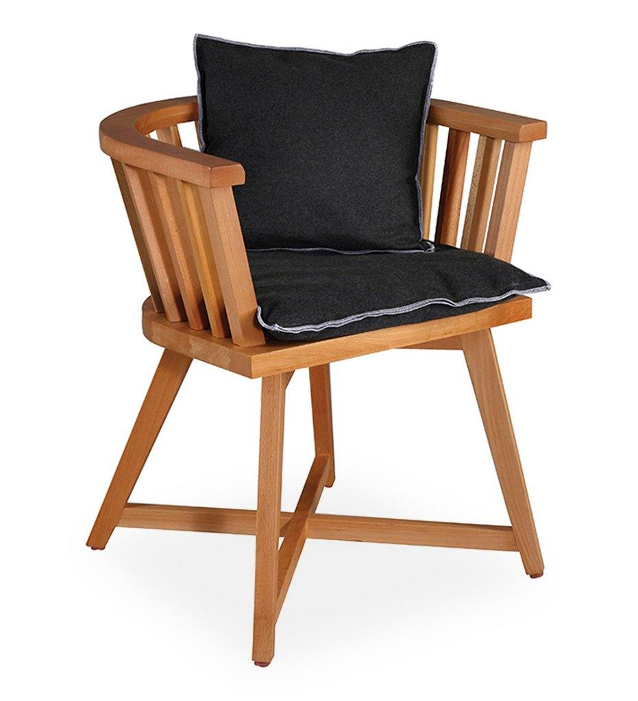 Almeco Cage Arm Chair - Beech