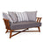 Juniper House-Almeco-Cage Sofa- Iroko Wood