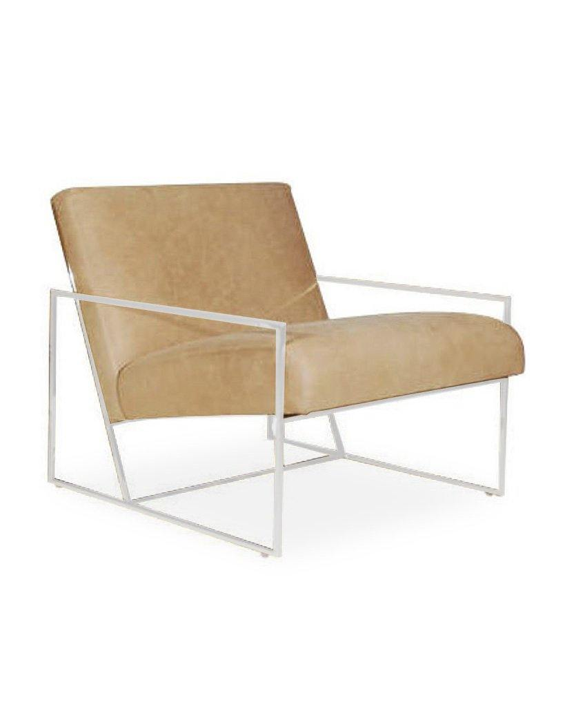 Juniper House-Almeco-Fatal Lounge Chair Powder Coated