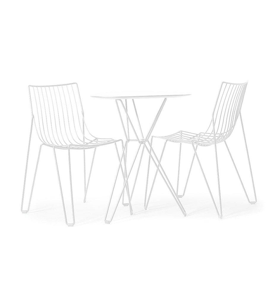 Juniper House-Almeco-Genesi Chair white