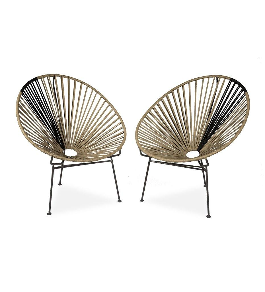 Juniper House-Almeco-Mille Lounge Chairs