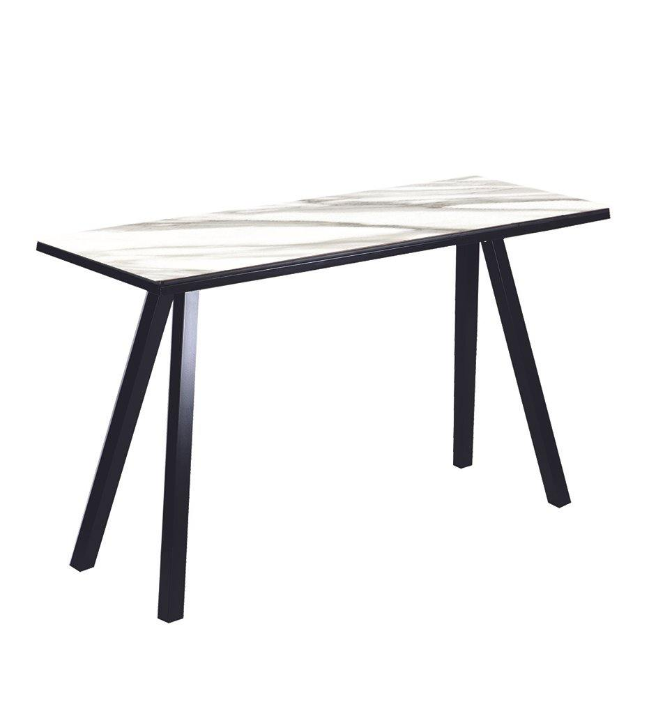 Juniper House-Almeco-Rich Alu Table-Carrara Top