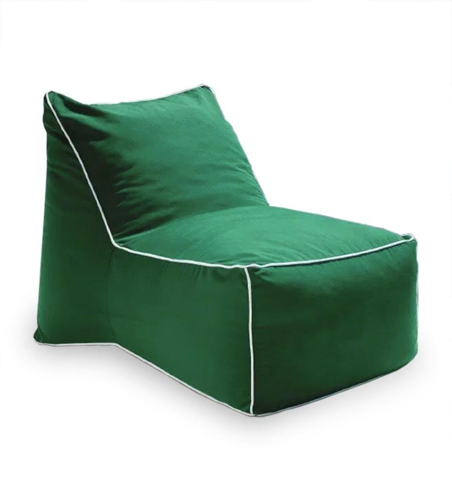 Juniper House-Almeco-Sacco Pouf-green
