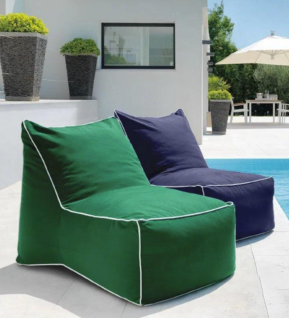 lifestyle, Juniper House-Almeco-Sacco Pouf-green