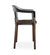 Juniper House-Almeco-Steelwood Chair-side view-Black