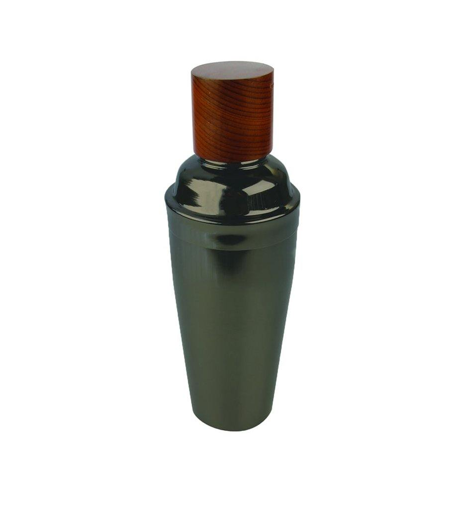 Be Home Onyx & Wood Cocktail Shaker