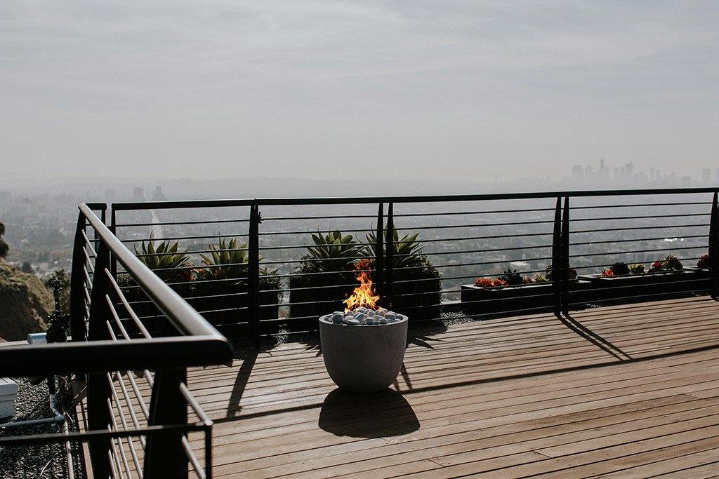 Juniper House-Dekko-Element Firepit