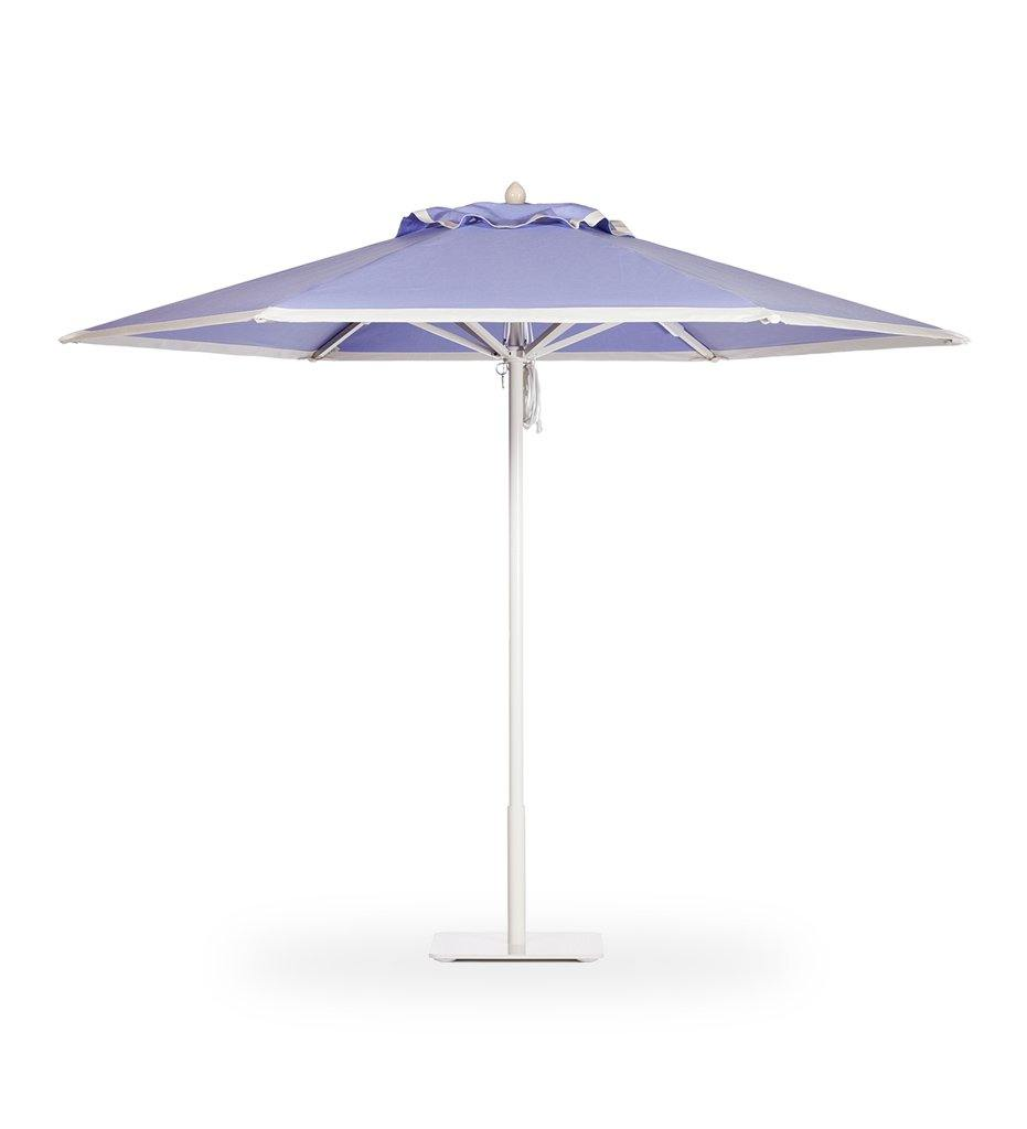 Juniper House-Santa Barbara Designs-Paseo-Round-Aluminum Umbrella