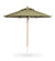 Juniper House-Santa Barbara Designs-Riviera-Round-Wood Pole Umbrella