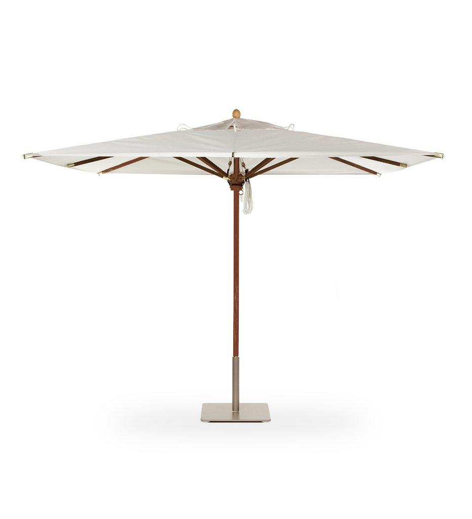 Juniper House-Santa Barbara Designs-Santa Barbara-Rectangle-Mahogany Umbrella