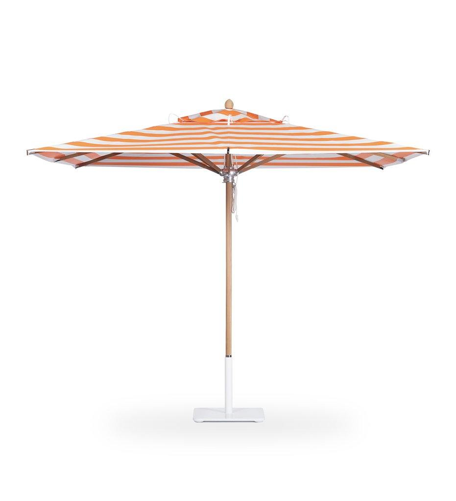 Juniper House-Santa Barbara Designs-Santa Barbara-Rectangle-Teak Pole Umbrella