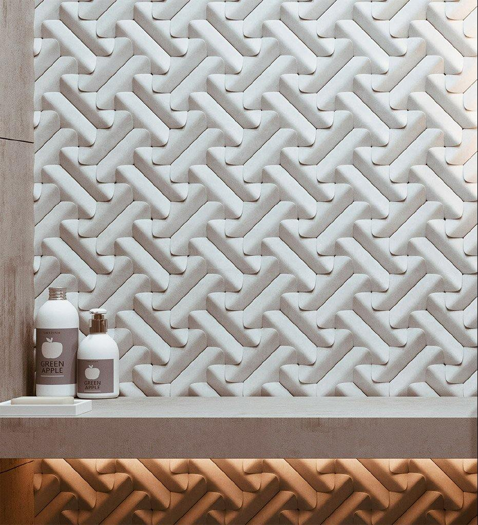 Sergey Makhno Forms Wall Tile