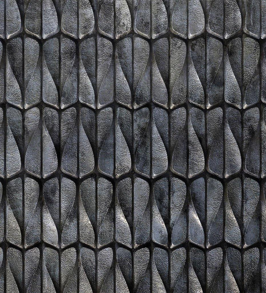 Sergey Makhno Wind Wall Tile