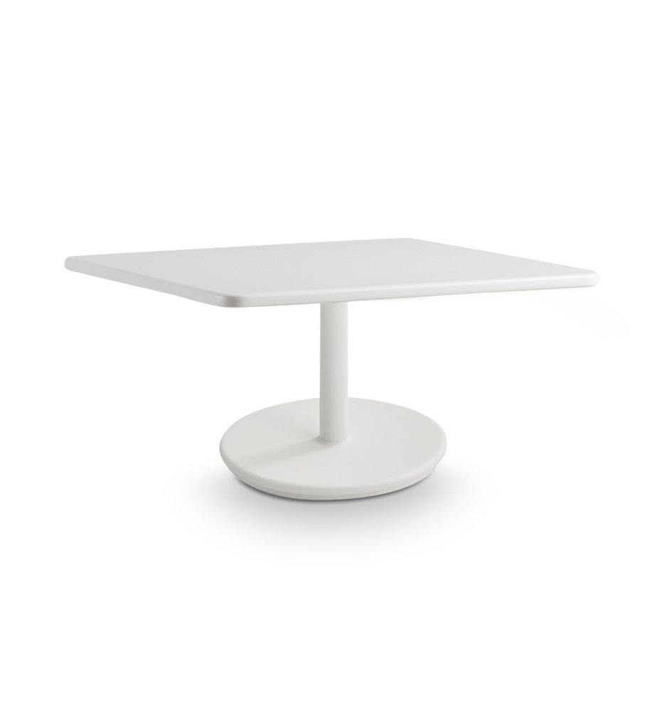 Cane-line Go Small Coffee Table with White Base and Top 5043ALWP046AW