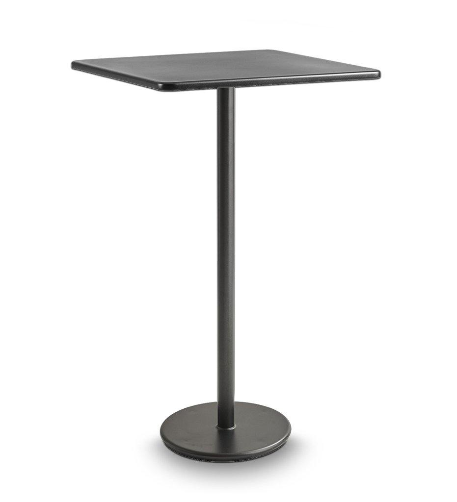Cane-line Go Lava Grey Aluminum Outdoor Bar Table 5045AL P046AL