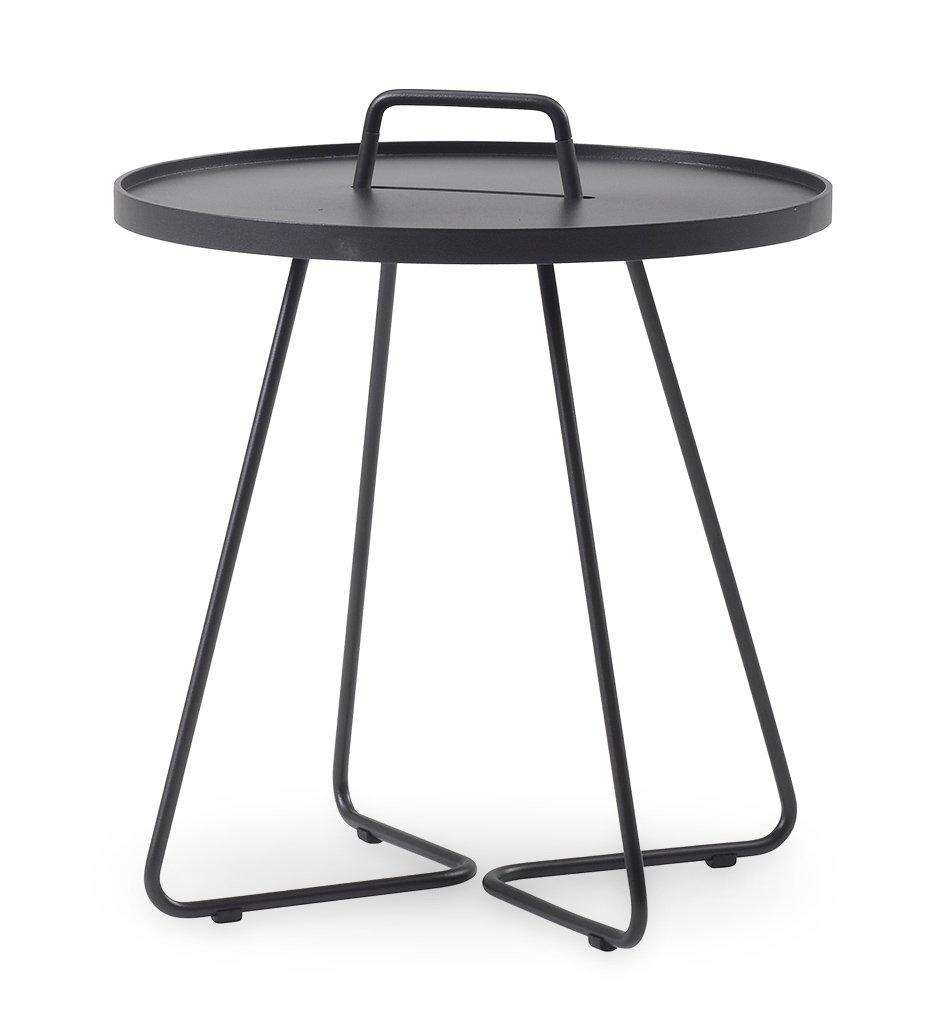 Cane-line On The Move Side Table Large Black 5066-AS