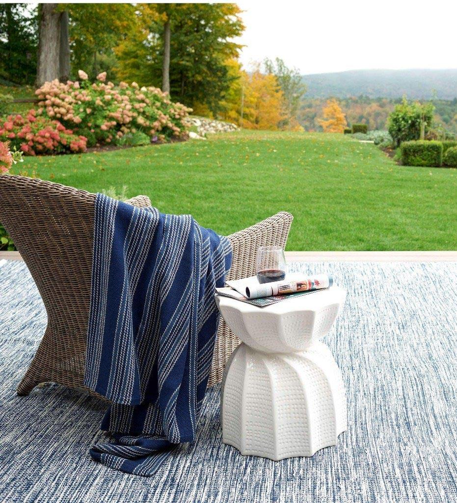 Annie Selke Cameroon Woven Cotton Throw