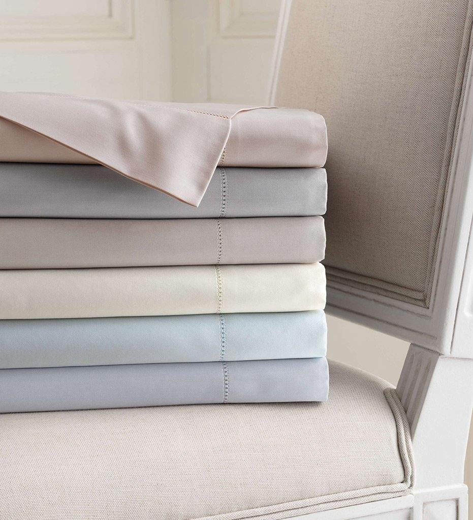 lifestyle, Annie Selke Carina Zinc Fitted Sheet