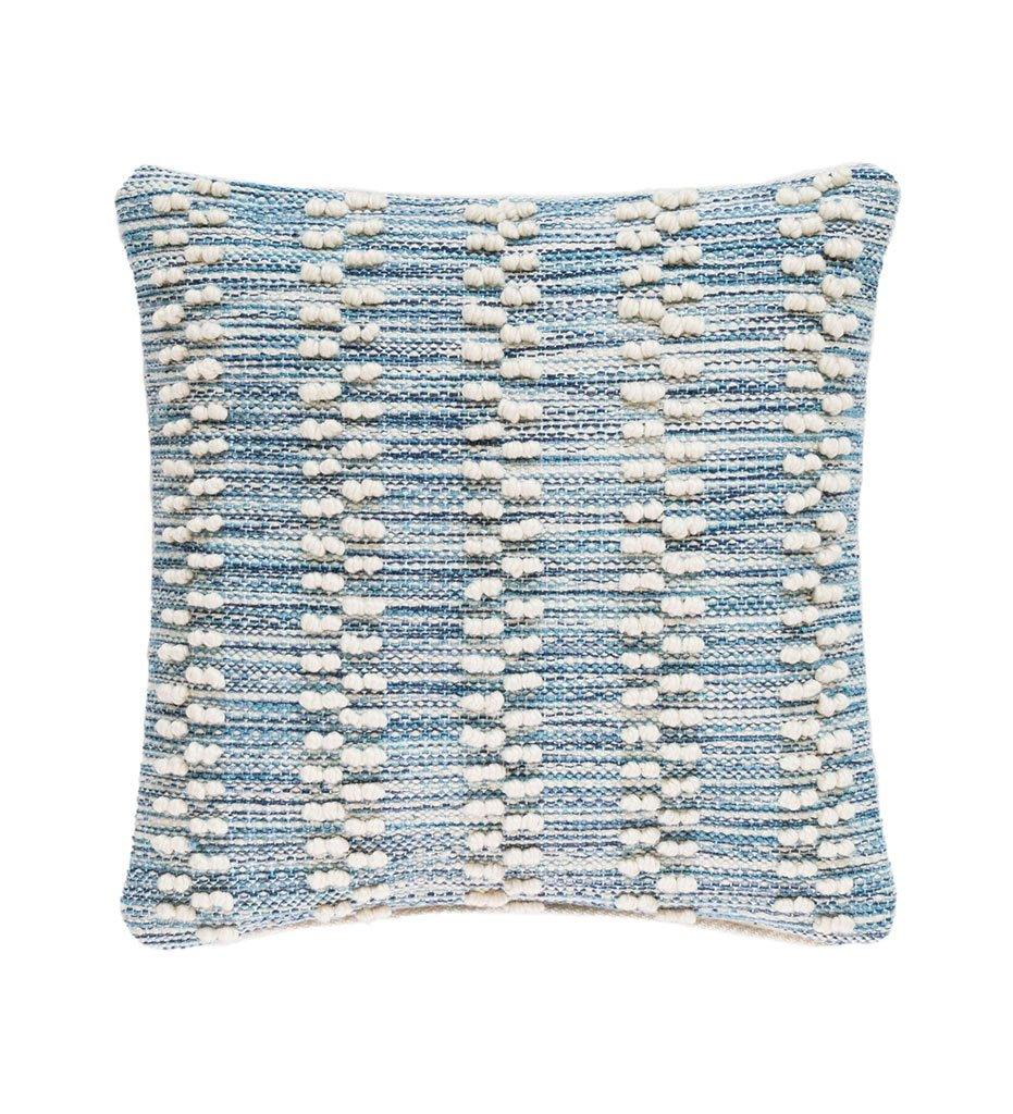 Annie Selke Hobnail Stripe Indoor/Outdoor Decorative Pillow