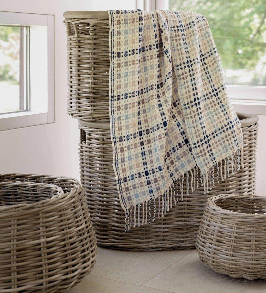 Annie Selke Pine Cone Hill Bridgehampton Throw