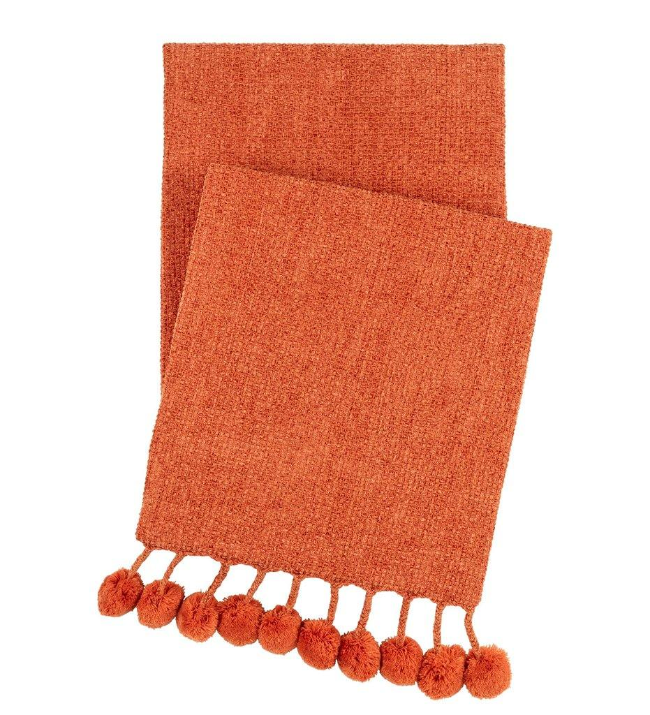 Annie Selke Bauble Chenille Spice Throw