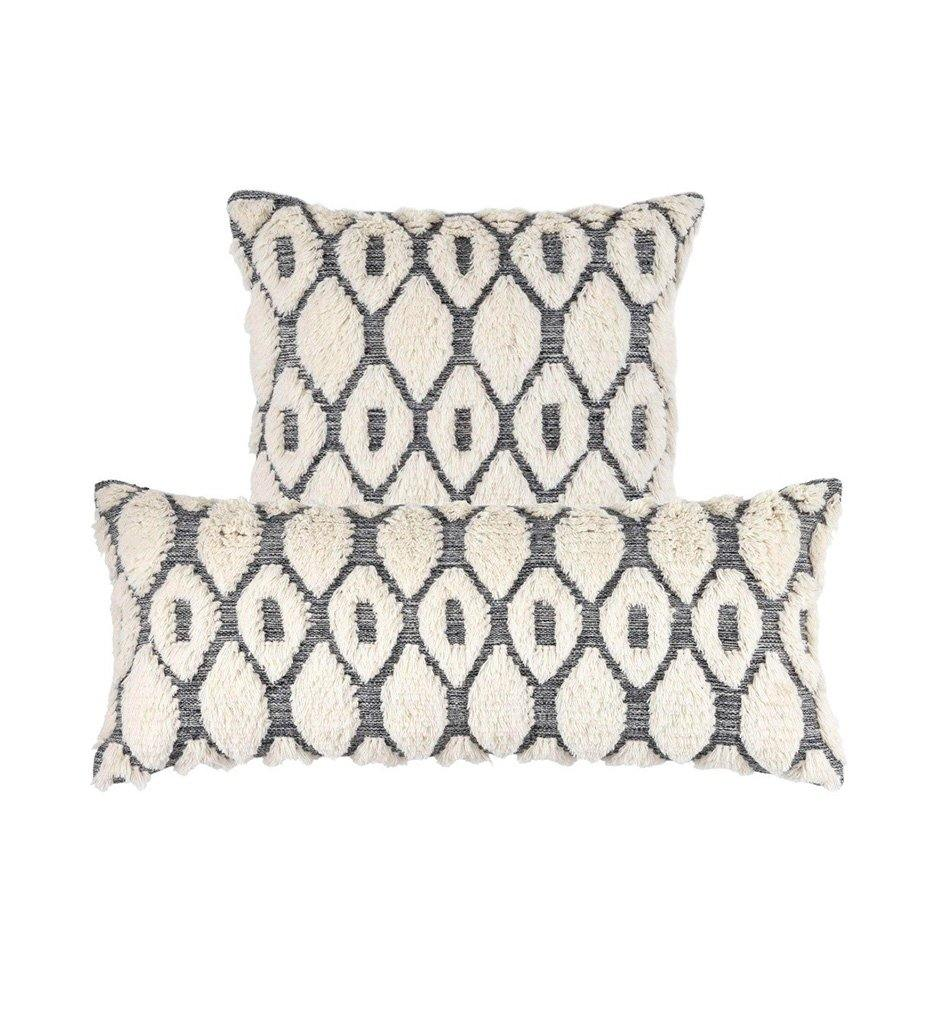 Annie Selke Pine Cone Hill Bristol Wool Decorative Pillow