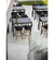 lifestyle, Cane-line Drop Outdoor Bar Table with Lava Grey Aluminum Base and Black Fossil Ceramic Top 50402AI P087COB