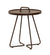On the Move Outdoor Aluminum Side Table - Small Mocca 5065AMO