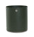 Cane-line Grow Medium Planter in Dark Green and Taupe 5772ADG