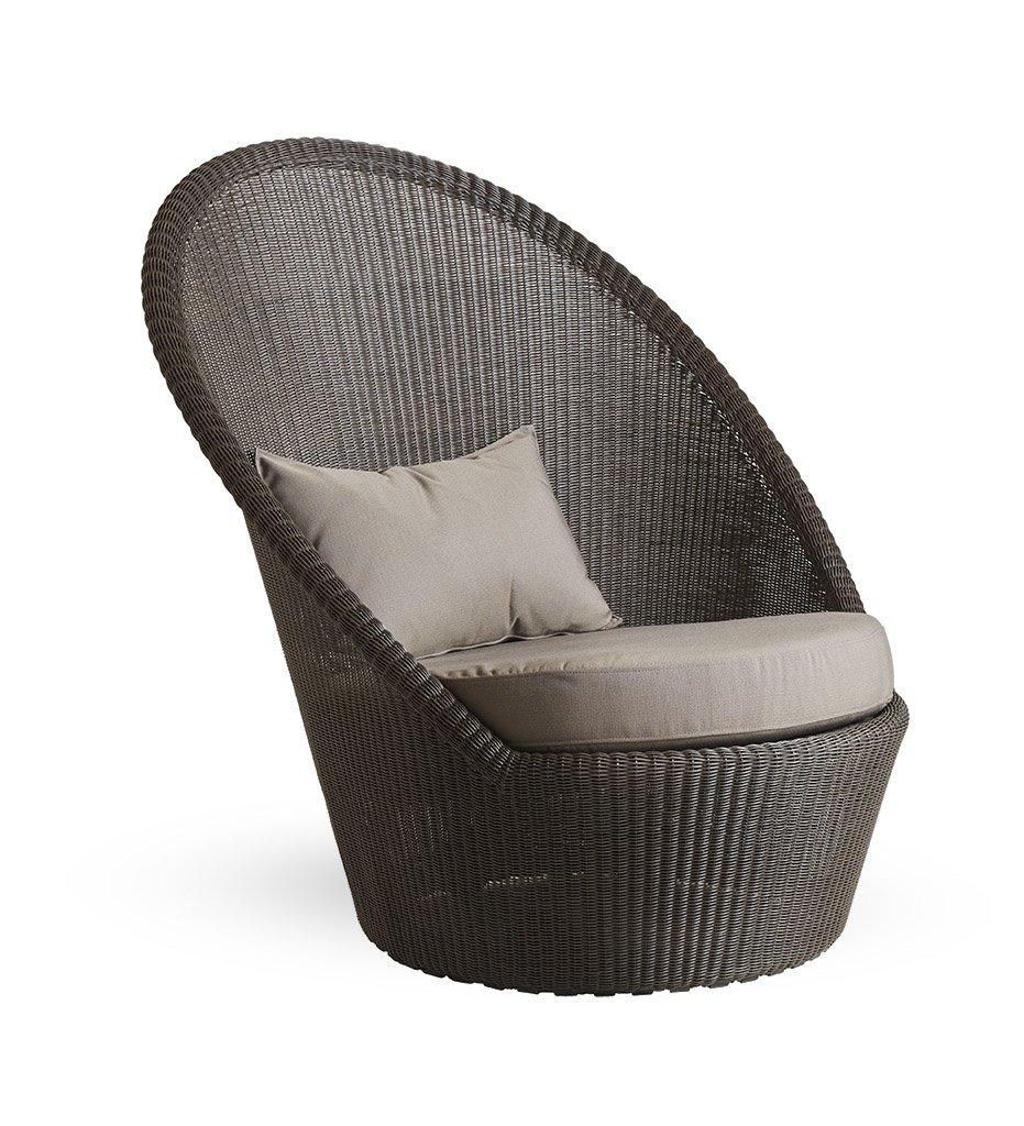 Cane-Line Kingston sunchair mocca taupe Y36