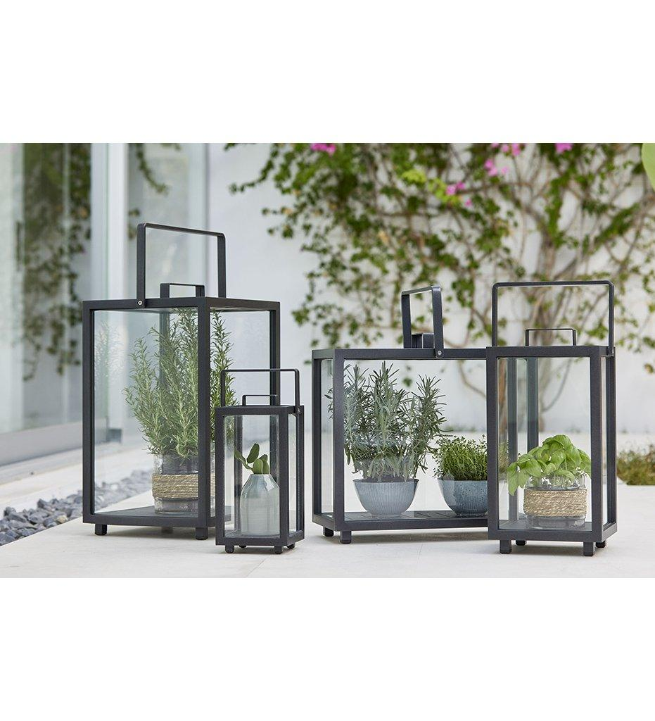 Cane-line Lighthouse Outdoor Aluminum Rectangular Lantern 5726AL