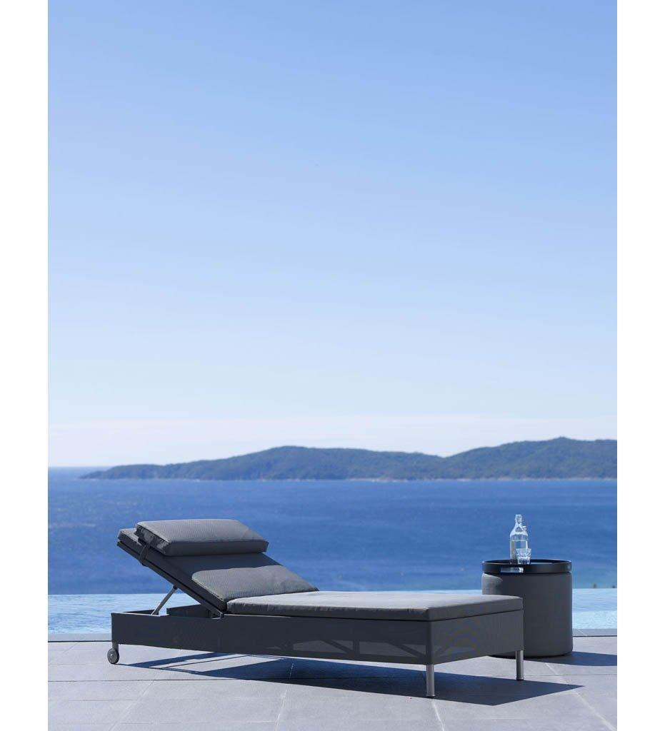 Cane-line Rest Sunbed Outdoor Chaise Grey 8510TXG