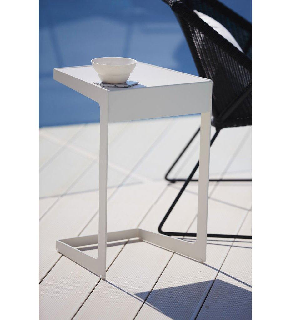 Cane-line Time Out Outdoor Aluminum Side Table 5025AA