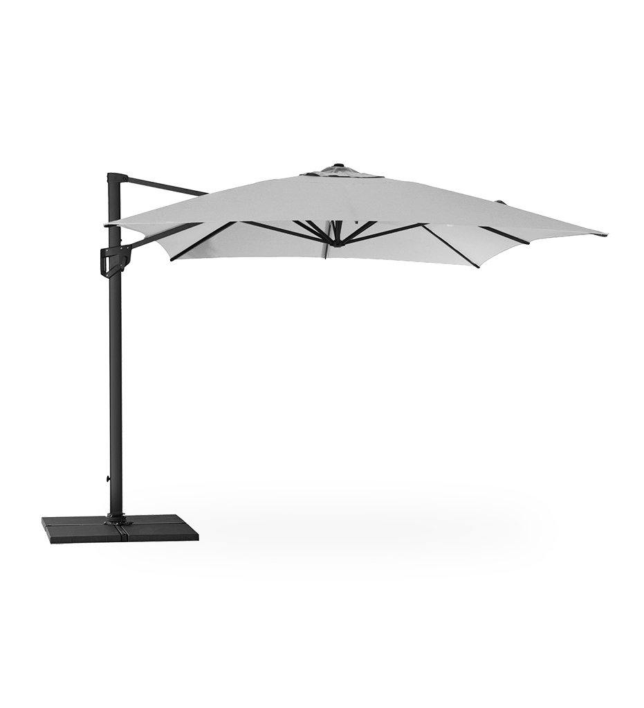 Hyde Luxe Tilt Square Umbrella - Olefin