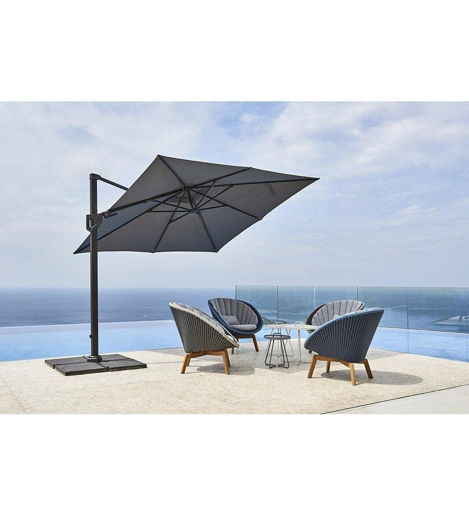 lifestyle, Hyde Luxe Tilt Square Umbrella - Polyester