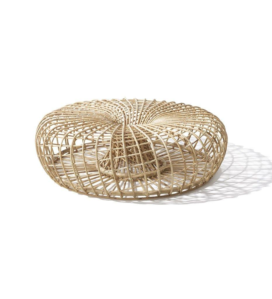 Cane-line Nest Large Footstool or Coffee Table in Rattan 7321RU