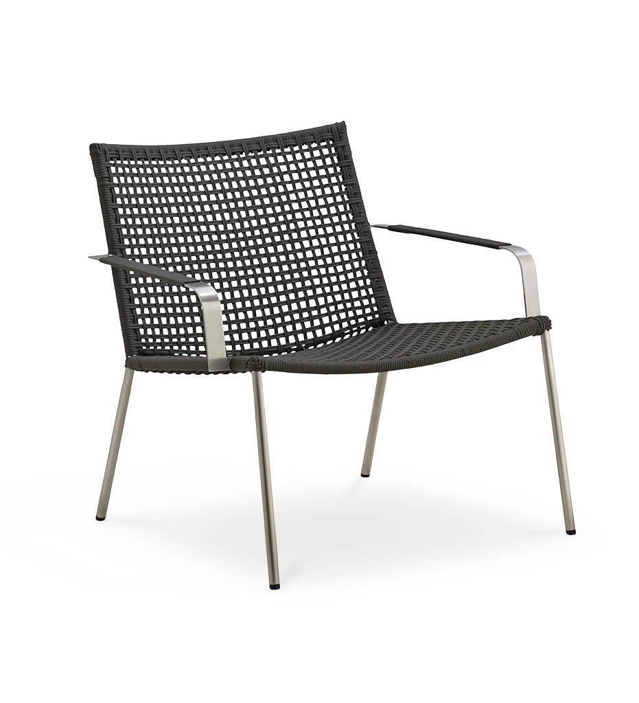 Straw Lounge Chair - Rope