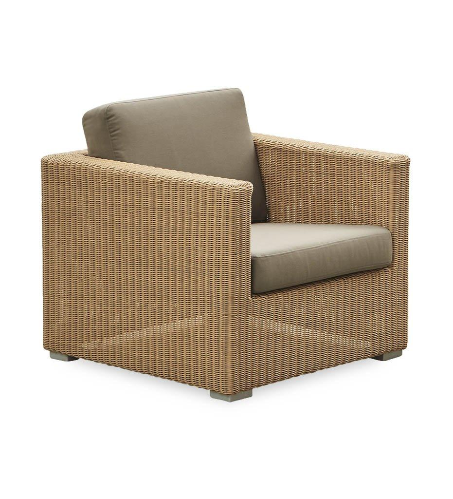 Cane-Line Chester lounge chair natural taupe Y36