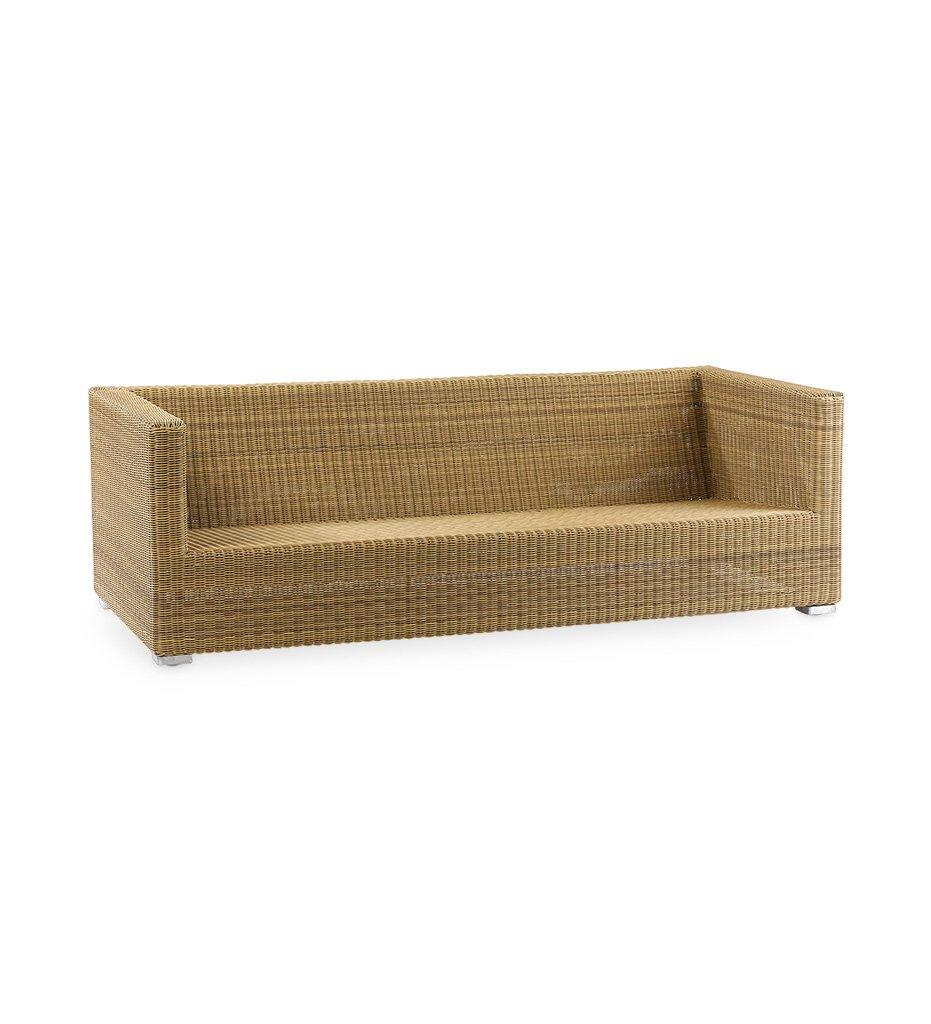 Cane-line Chester 3-Seater Sofa Natural All-Weather Rattan 5590U