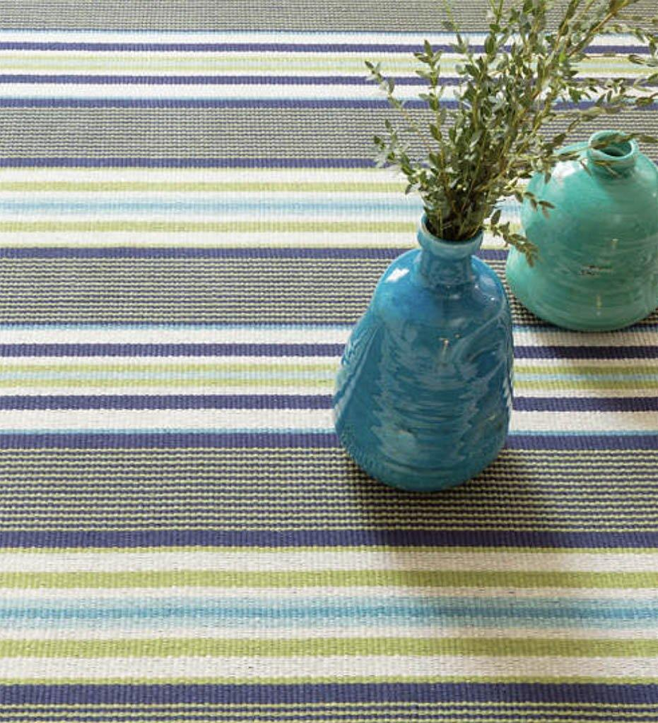 Juniper_House-Dash&Albert-Asher Stripe Woven Cotton Rug