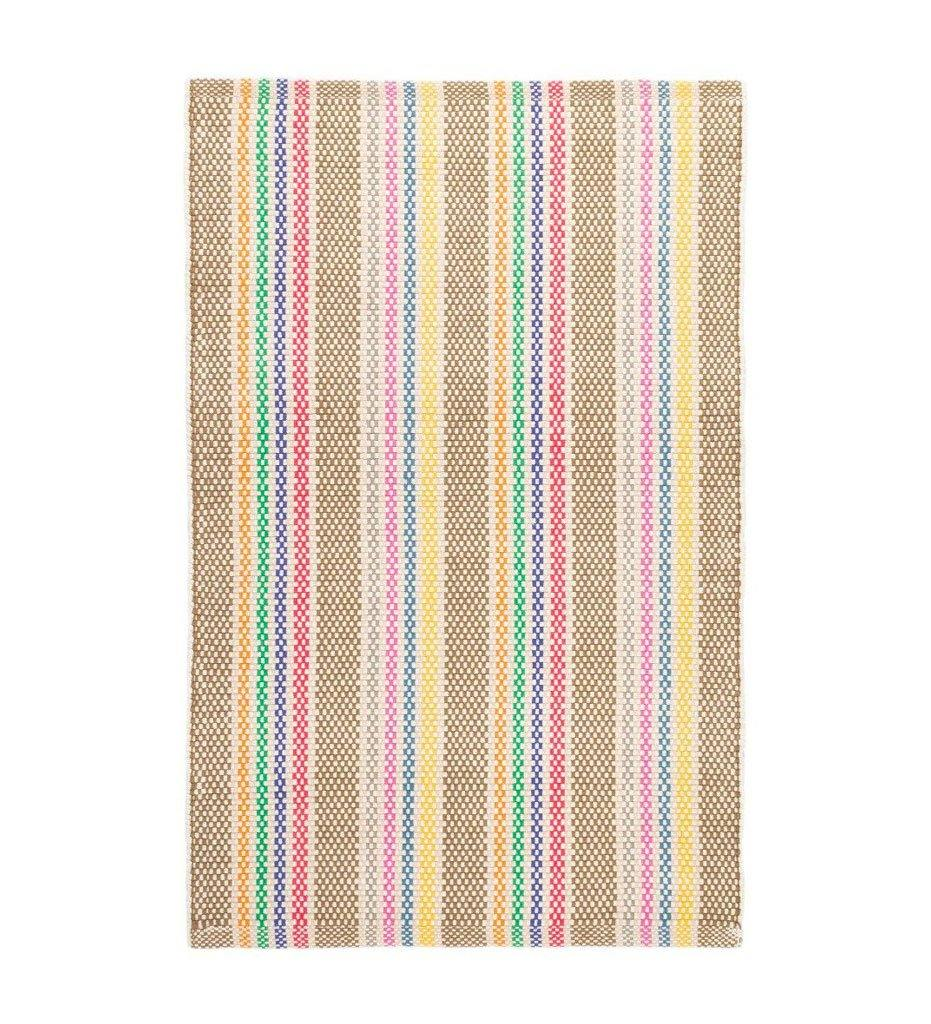 Dash and Albert Tempi Stripe Woven Cotton Rug