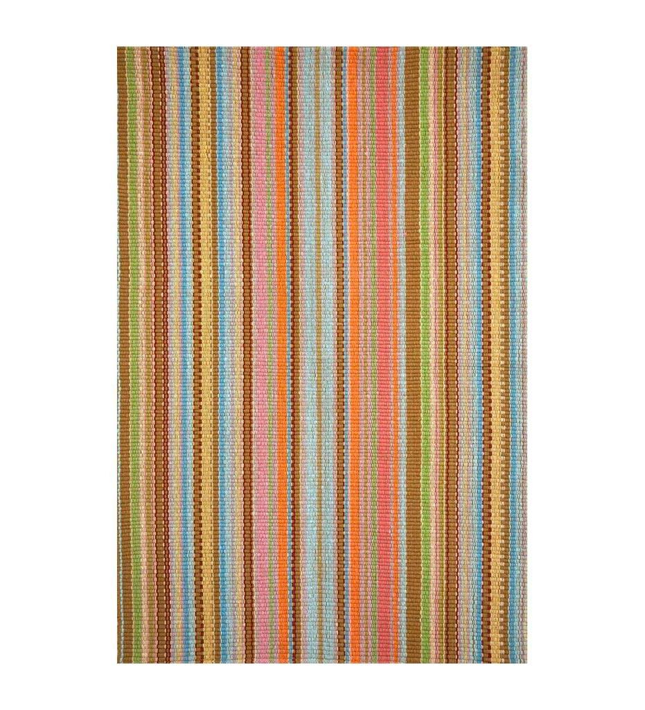 Dash and Albert Zanzibar Ticking Indoor/Outdoor Rug