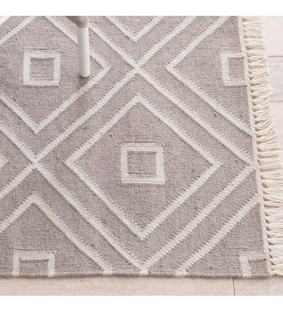 Dash and Albert Mali Grey Indoor/Outdoor Rug