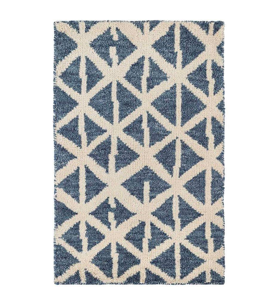 Dash and Albert Newport Blue Hand Knotted Wool Rug