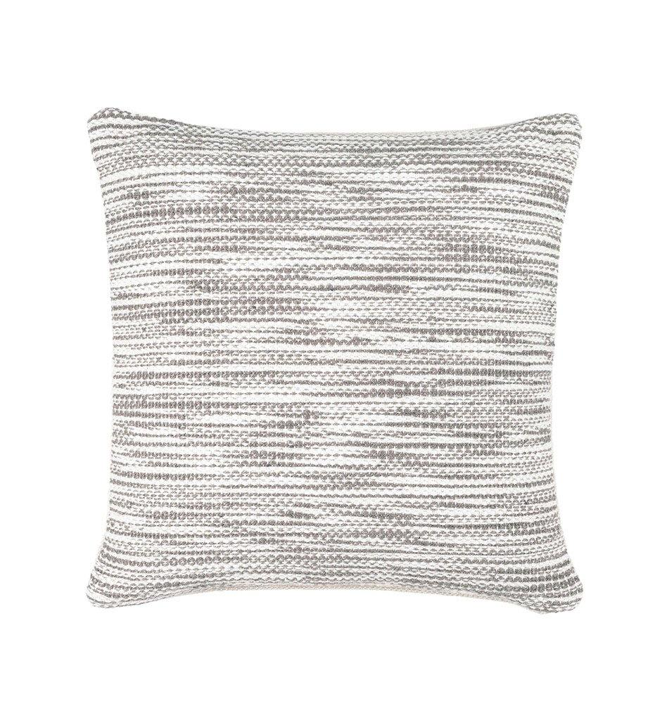 Pine Cone Hill Tideline Grey Indoor/Outdoor Decorative Pillow