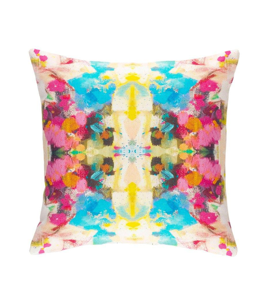 Dash and Albert Corsage Indoor/Outdoor Decorative Pillow