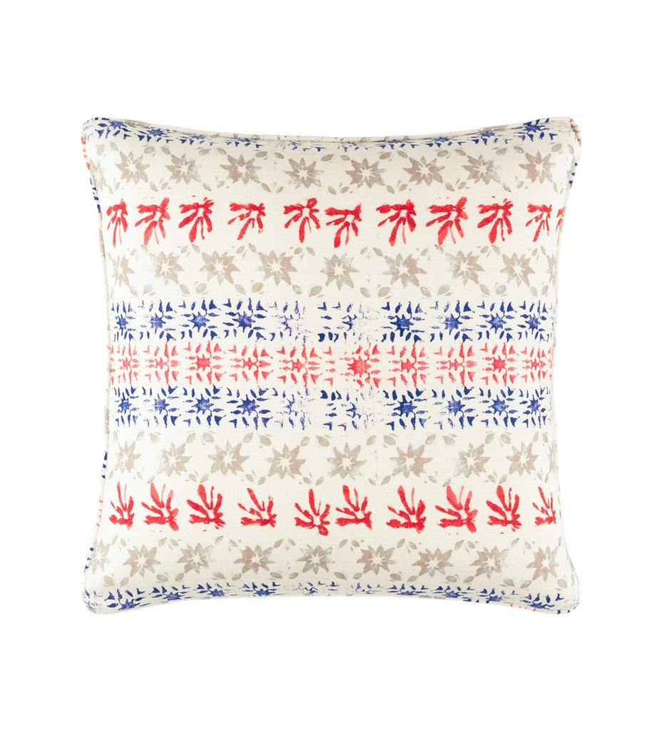 Dash and Albert Bloom Linen Decorative Pillow