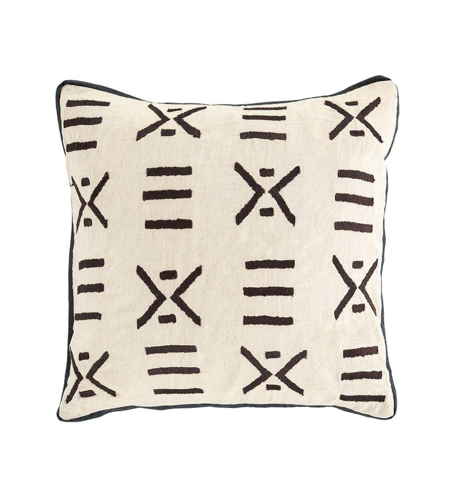 Dash and Albert Kitale Embroidered Decorative Pillow