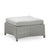 Cane-line Diamond Light Grey Tex/Sunbrella Outdoor Footstool 8302TXSL