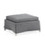 Cane-line Diamond Grey Tex/Sunbrella Outdoor Footstool 8302TXSG